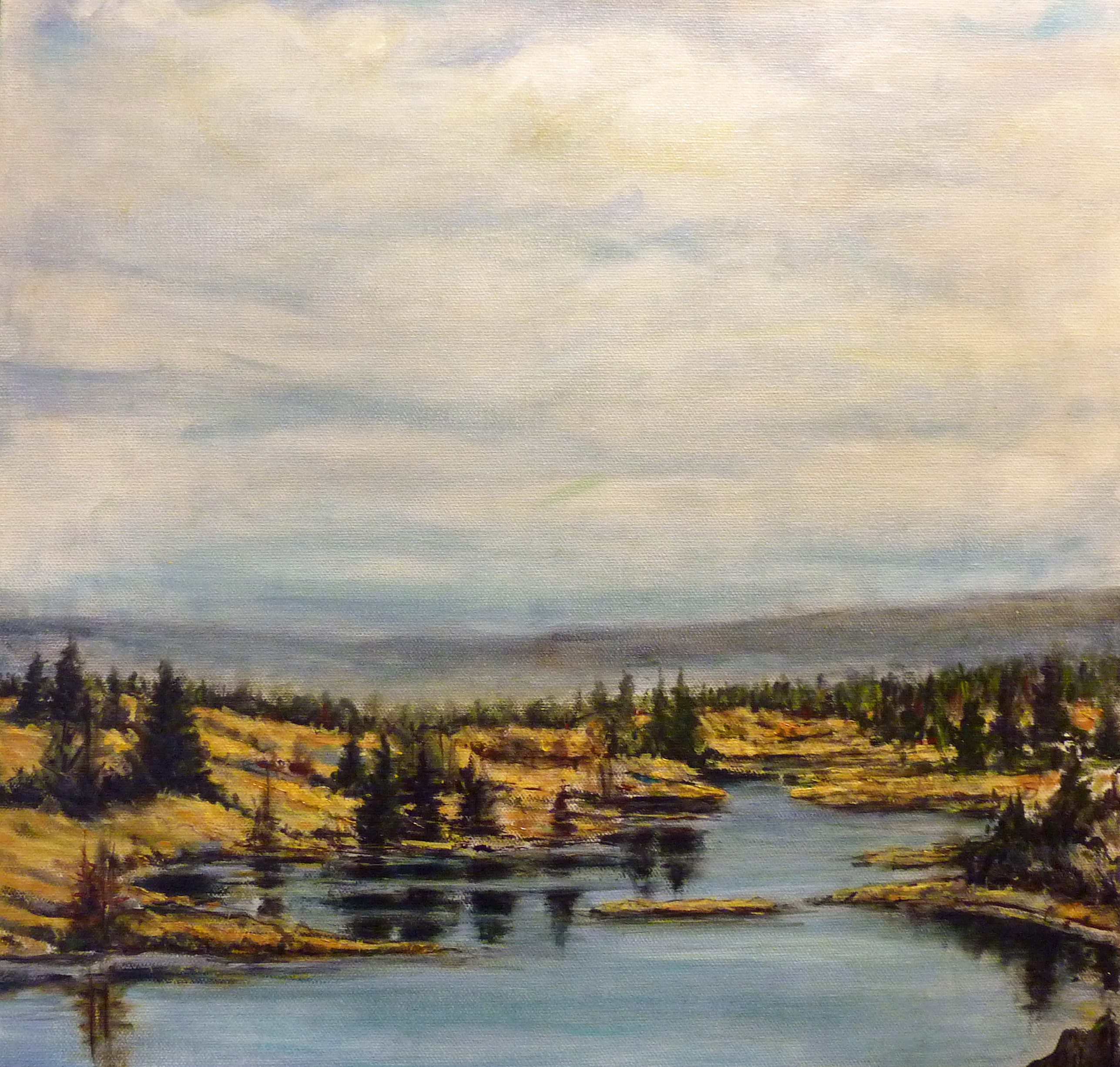 130 Mile Marsh | Landscape Paintings | Kim Pollard | Canadian Artist | British Columbia | Cariboo