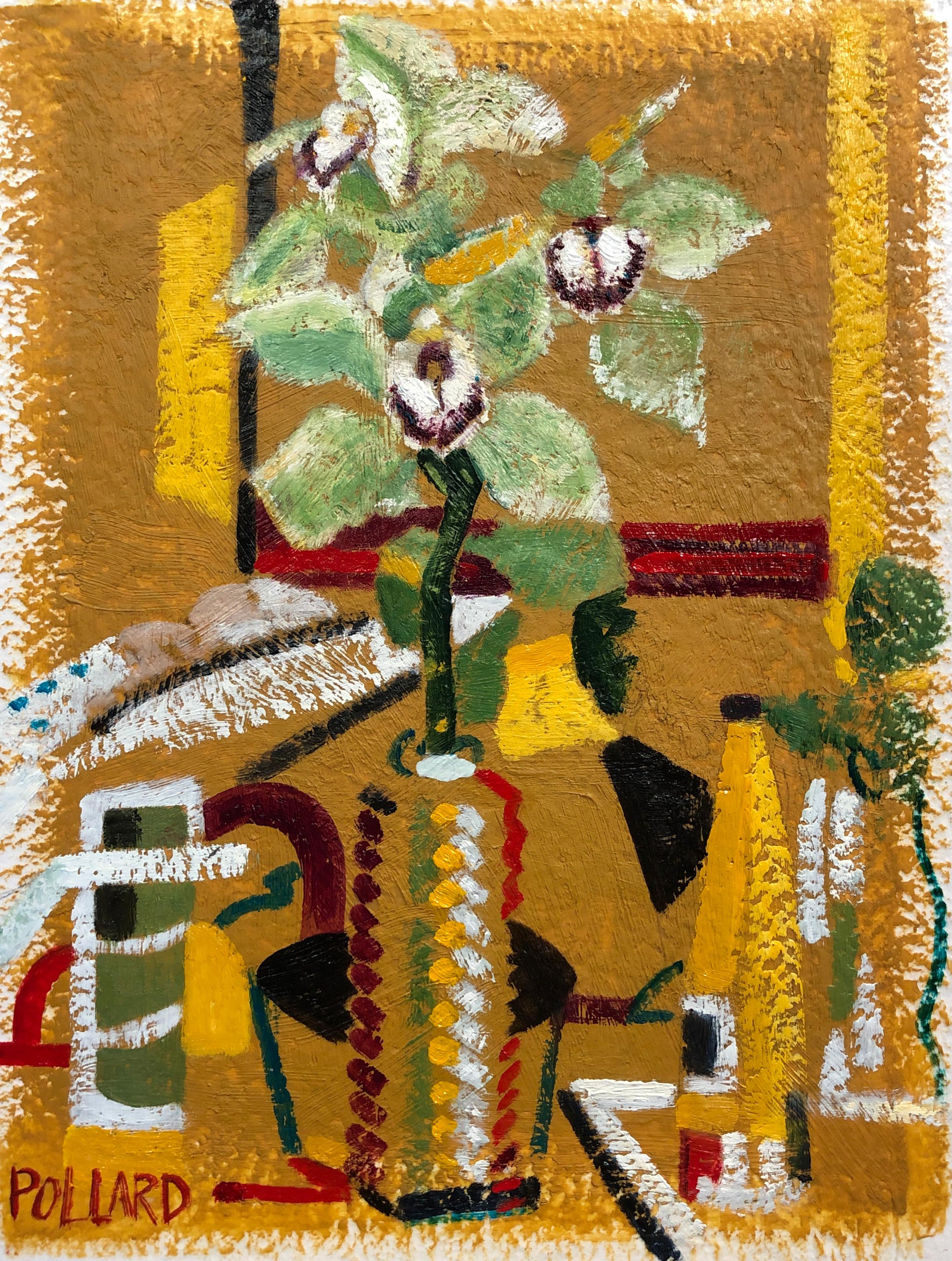 Judee's Room | Modern Still Life | Vase Series | Artist | Painter | Kim Pollard | Canadian Artist