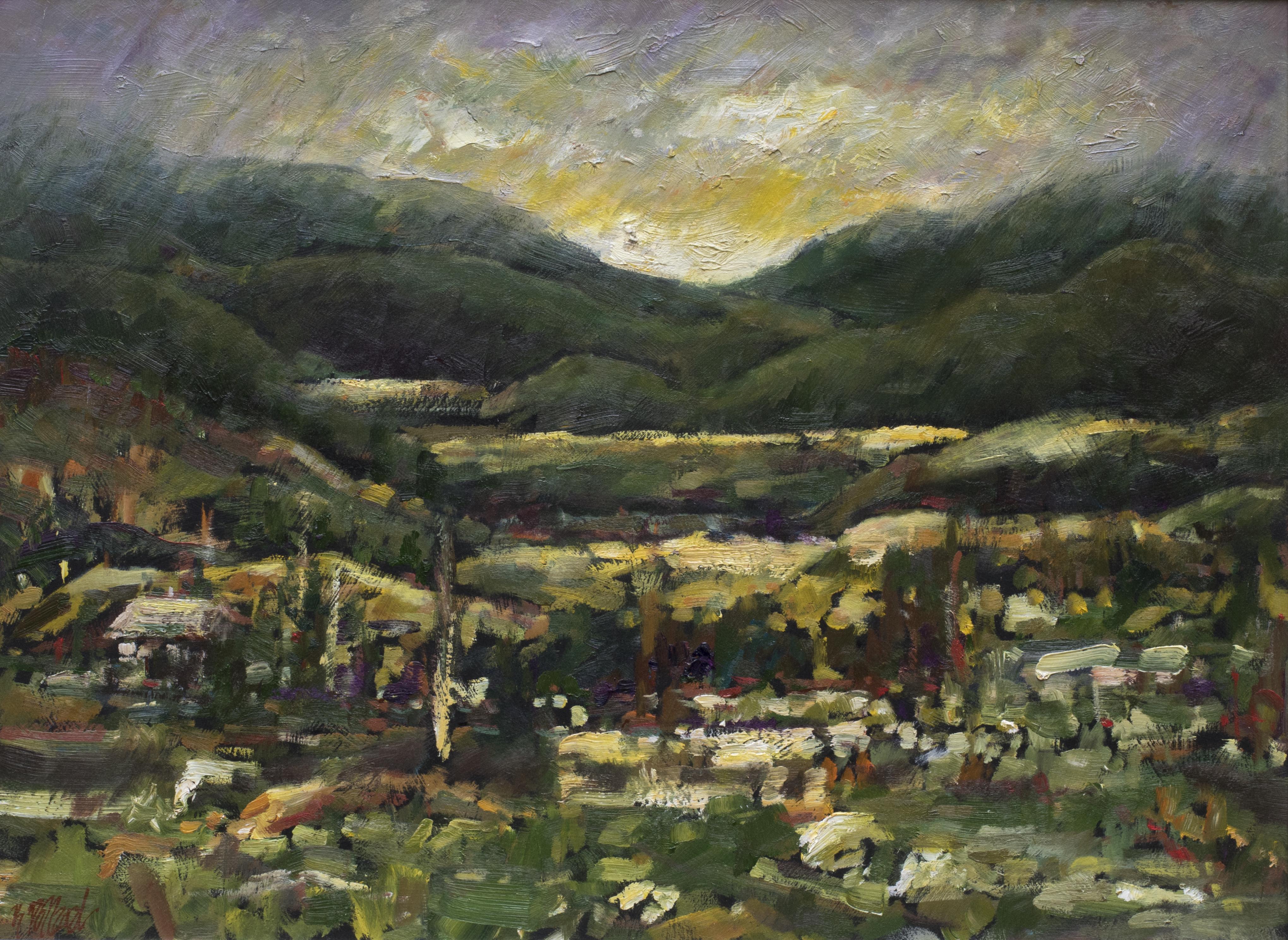 Stuart's Valley   Landscape Paintings   Artist   Kim Pollard   Canadian Artist   Canadian Art