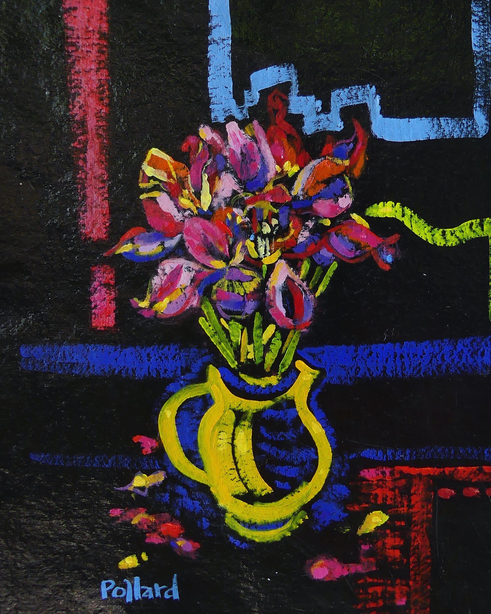 Yellow Vase | Modern Still Life | Artist | Painter | Kim Pollard | Canada