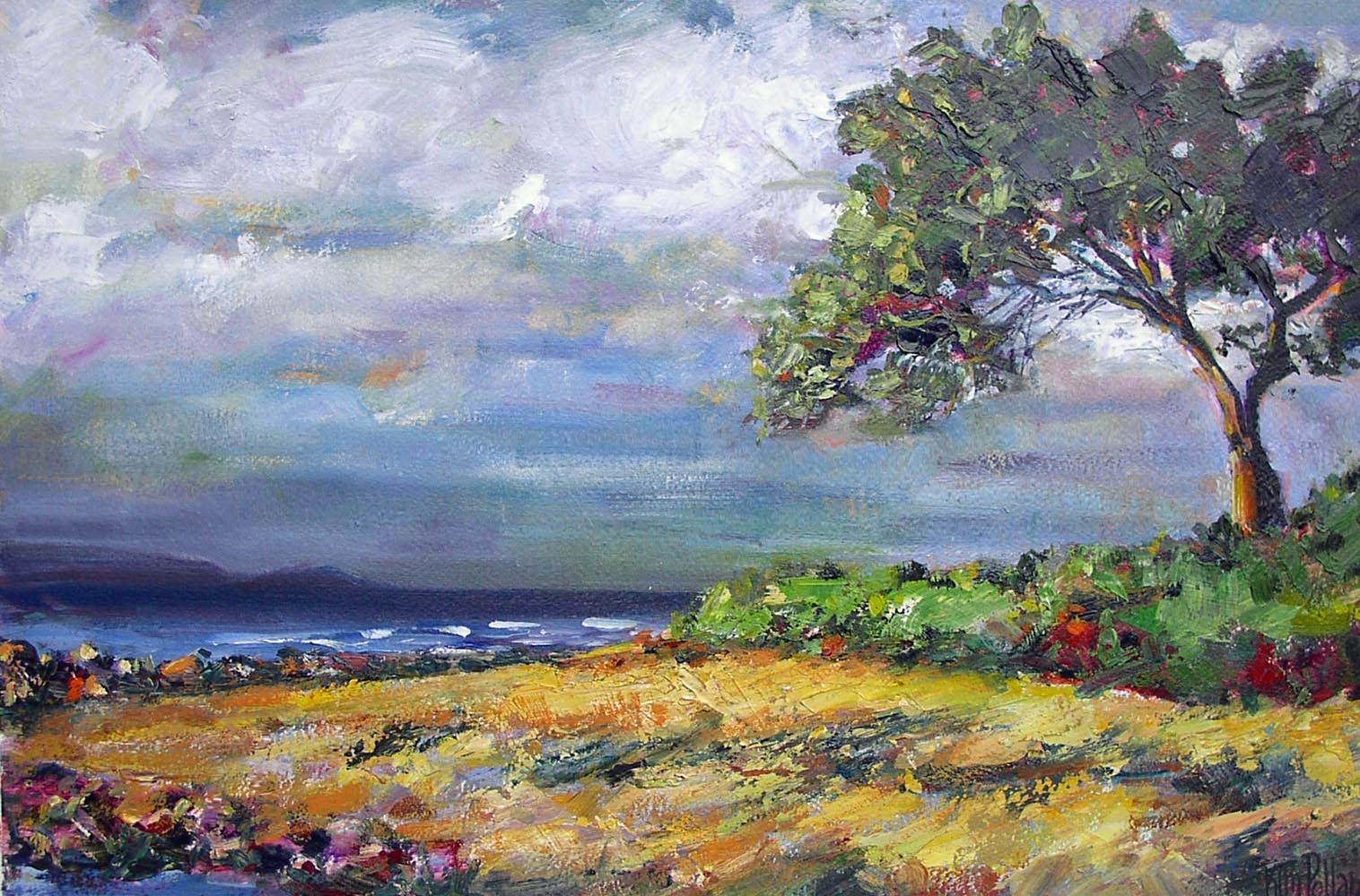 beach grove | Archives | Artist painter Kim Pollard | Canada | Pacific Northwest
