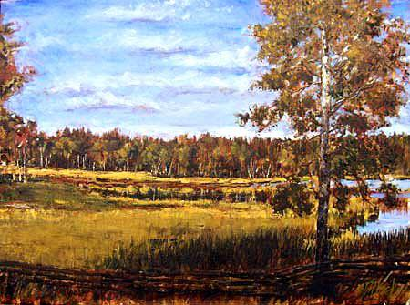 cariboo afternoon   Landscapes of British Columbia   Artist painter Kim Pollard   Canada   Pacific Northwest