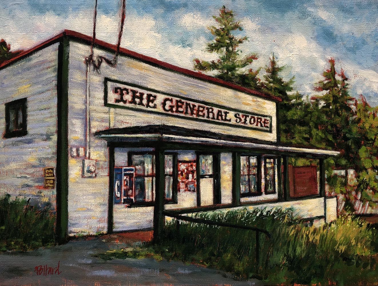 the general store | new work | Artist painter Kim Pollard | Canada | Pacific Northwest