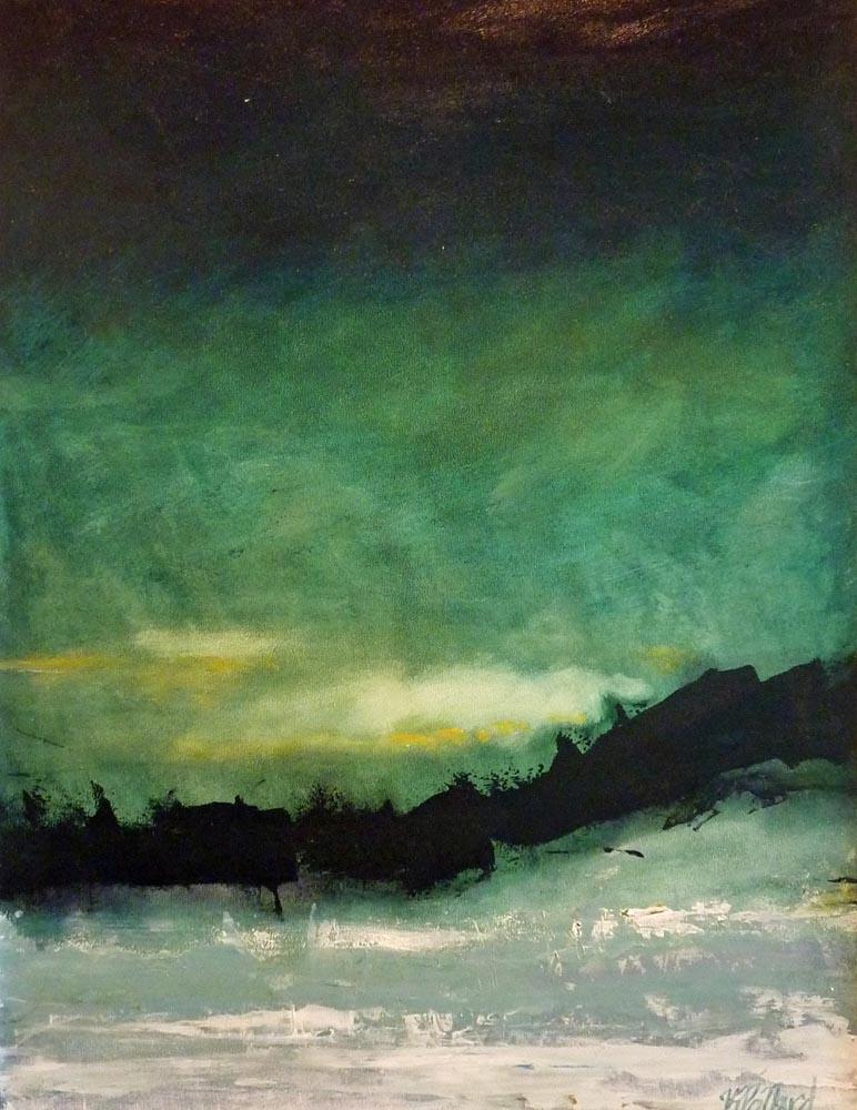 Winter Solstice | Visceral Landscapes | Kim Pollard | Canadian Artist | Abstract Landscape