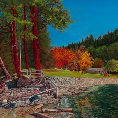 Autumn at Roesland | Pender Island | Canadian Fine Art |