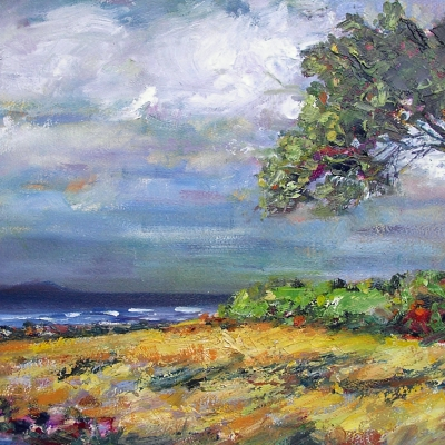 Beach Grove | Landscape Painting | Kim Pollard | Canadian | Artist |