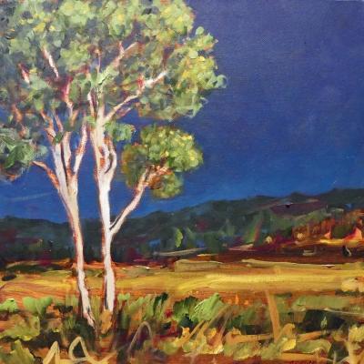 Mimi's Tree | Landscape Painting | Kim Pollard | Canadian Artist | British Columbia