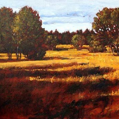Monica's Meadow | Landscapes Paintings | Kim Pollard | Artist | Painter | Canadian Artist | Cariboo | British Columbia