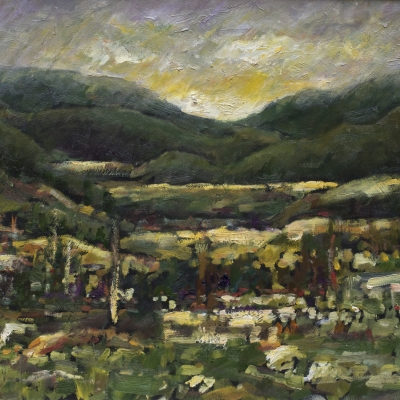 Stuart's Valley | Landscape Paintings | Artist | Kim Pollard | Canadian Artist | Canadian Art