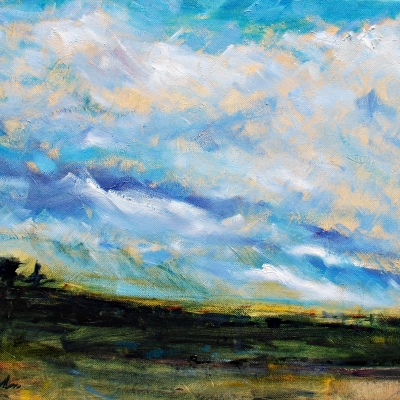Ralph Waldo Emerson | Landscapes of Western Canada | Artist painter Kim Pollard | Canada | Pender Island, BC