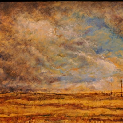 storm chaser | landscapes of western canada | Artist painter Kim Pollard | Canada | Pacific Northwest