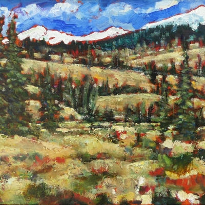 ya ha tinda 1| landscapes of Western Canada | Artist painter Kim Pollard | Canada | Pacific Northwest