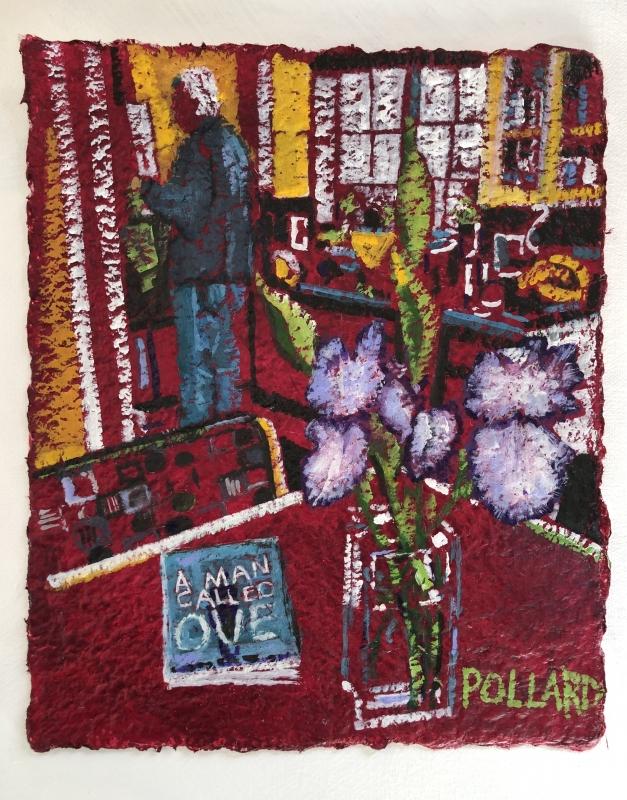 A Man Named Don | Vase Series | Artist | Painter | Kim Pollard | Canadian Artist