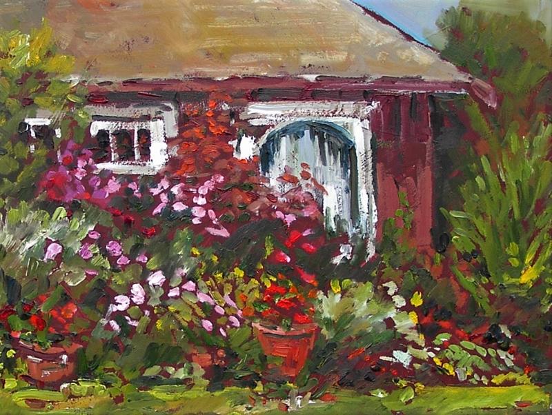 Beach Cottage 2 | Landscape Paintings | Kim Pollard | Canadian | Artist | Landscape Painting | Plein Air