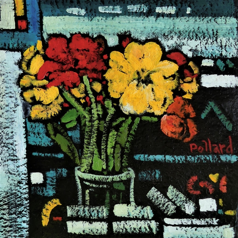Busy Bee | Modern Still Life | Artist | Painter | Kim Pollard | Canadian Painter