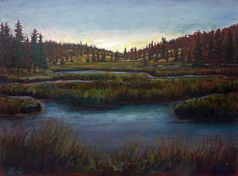Aubades | Landscapes of British Columbia | Artist painter Kim Pollard | Canada | Pacific Northwest