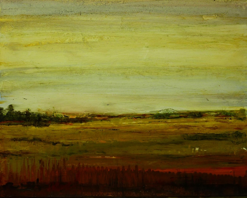 the forgotten field | dreamscapes | Artist painter Kim Pollard | Canada | Pacific Northwest