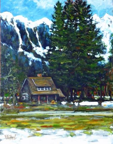 Snowline | Landscape Paintings | Kim Pollard | Canadian Artist | British Columbia | Landscape Painting