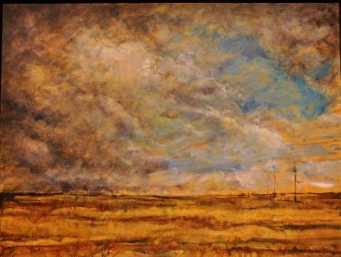 Sea Witch   Prairie Landscape   Artist   Painter   Kim Pollard   Canada   Pollard
