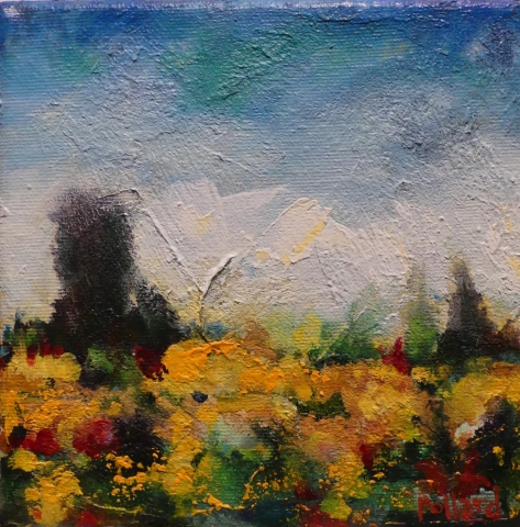 little meadow | Archives | Artist painter Kim Pollard | Canada | Pacific Northwest