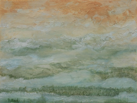 Mystic Morning | Poetic Landscapes | Artist | Painter | Kim Pollard | Canada |