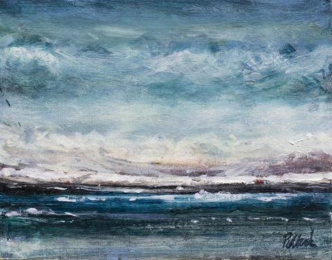 south of the north pole | dreamscapes | Artist painter Kim Pollard | Canada | Pacific Northwest