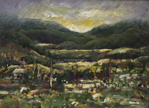 stuarts valley| archives | Artist painter Kim Pollard | Canada | Pacific Northwest