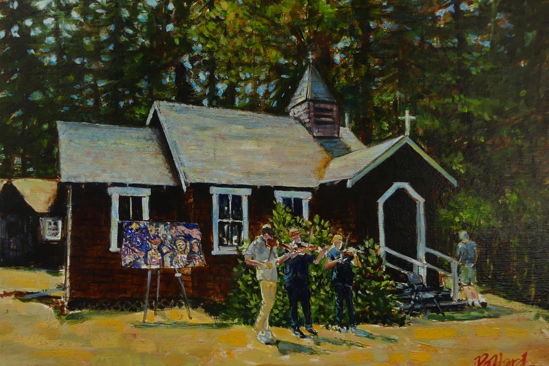 Pender Island | Artist Painter Kim Pollard | Canada | Pollard | Canadian Artist | Art Off The Fence