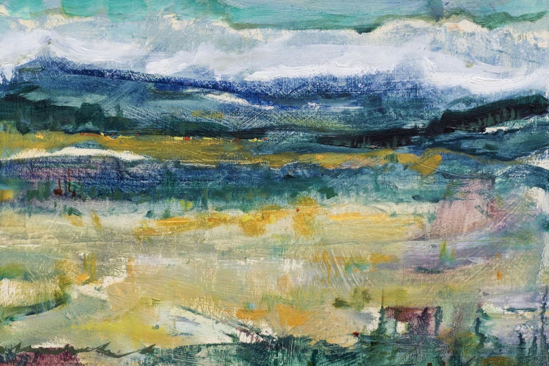 the olde west   dreamscapes   Artist painter Kim Pollard   Canada   Pacific Northwest
